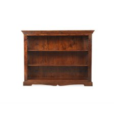 Oak City - Maharajah Indian Rosewood Low Bookcase