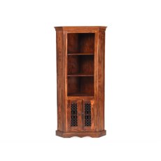 Oak City - Maharajah Indian Rosewood Corner Display Unit
