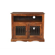 Oak City - Maharajah Indian Rosewood Square TV Stand