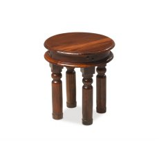 Oak City - Maharajah Indian Rosewood Round Coffee Table - 40cm