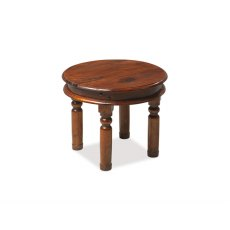 Oak City - Maharajah Indian Rosewood Round Coffee Table - 55cm