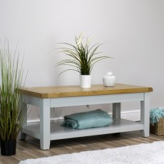 Oak City - Sydney Painted French Grey Coffee Table