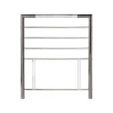 City Metal Headboard in Nickel Chrome Finish