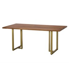Miami Solid Acacia Wood 180cm Dining Table