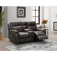 The Ultimate Smart 2 Seater Power Recliner Console Sofa