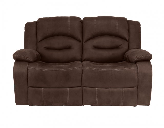 Sofa Source Ireland Nova 2 Seater Recliner Sofa in Brown