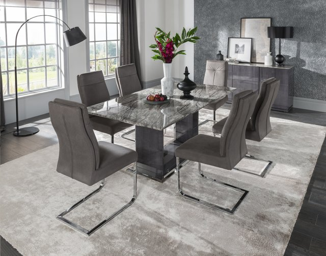Vida Living Donatella 1800 Dining Set & 6 Chairs