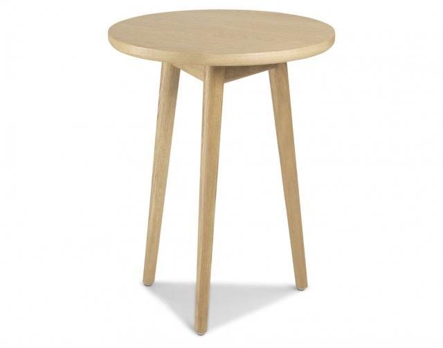 Heritage Henley Solid Oak Circular Lamp Table