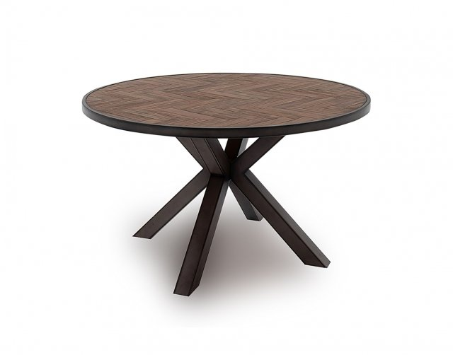 Vermont 130cm Round Dining Table In, Round Dining Table Uk