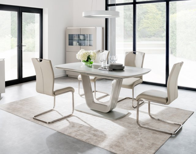 Liberty 160 200cm Extending Dining Table Set 6 Chairs Furniture World