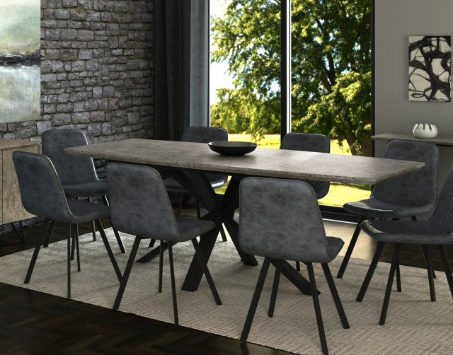 Titan Extending Dining Table Set 6, Round Extendable Dining Table Set With 6 Chairs
