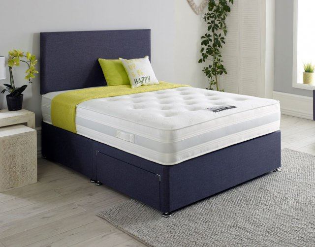 Dura Beds Comfort Care Divan Bed with FREE Headboard & Bedding