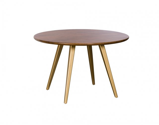 Geometric Mango Wood 1round Dining, Wood Table Round
