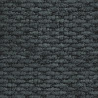 Tidal Charcoal - 100% recycled chenille fabric