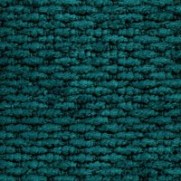 Tidal Teal - 100% recycled chenille fabric