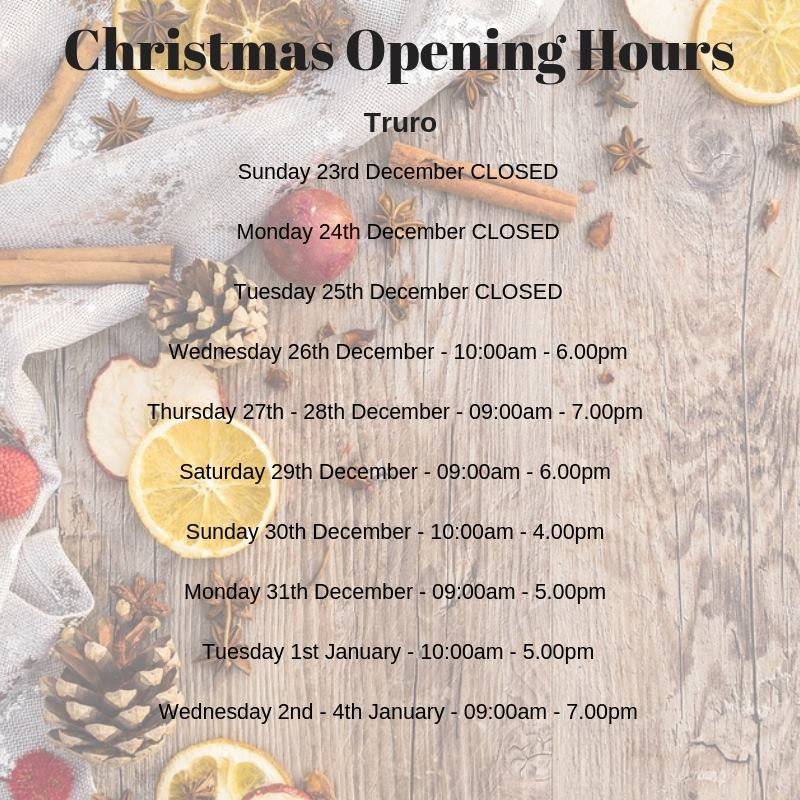 Furniture World Truro Opening Hours