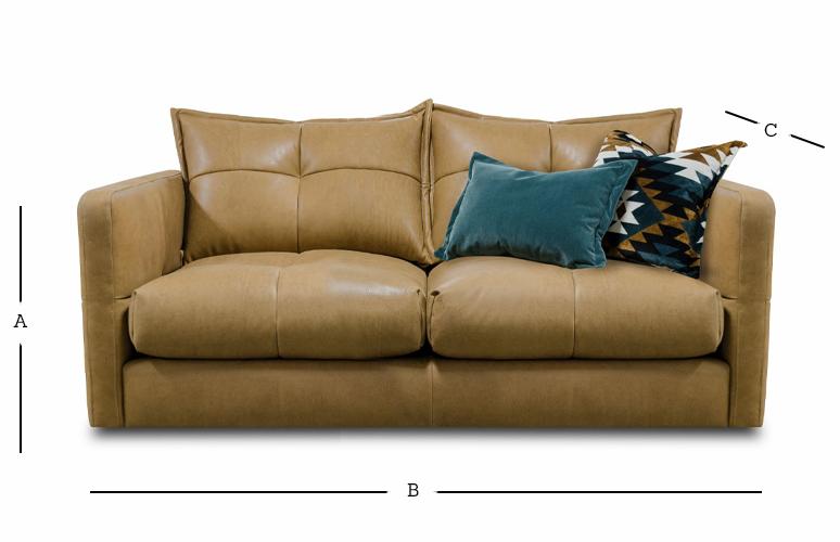 Tod 2 Seater Sofa Dimensions