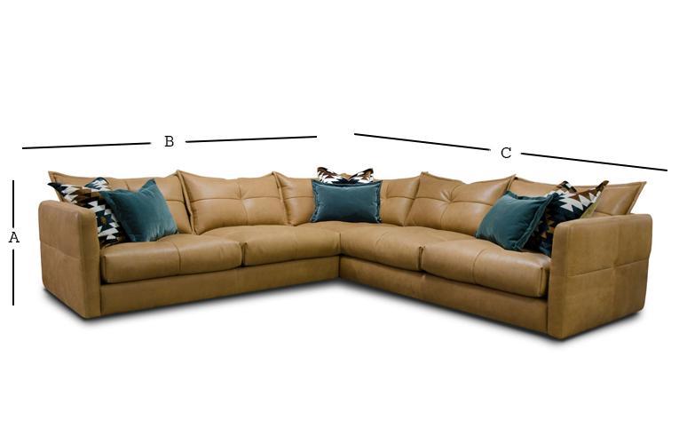 Tod Corner Sofa Dimensions