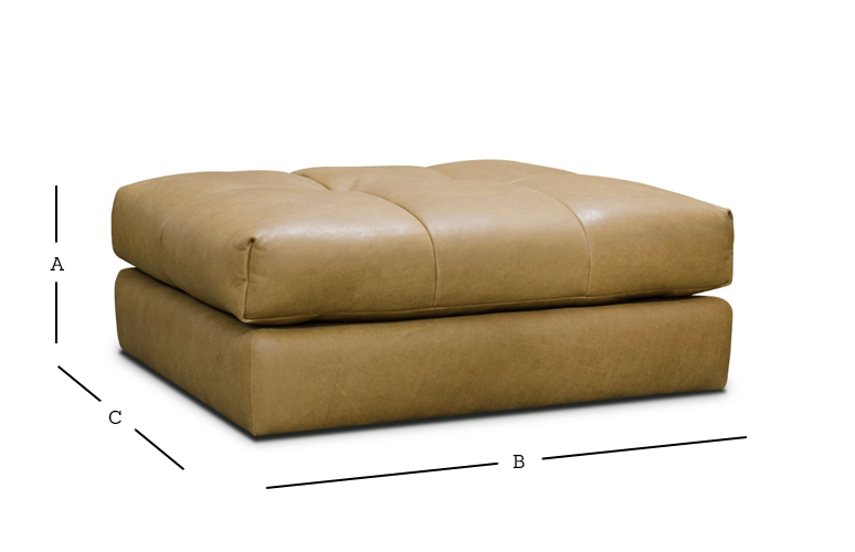 Tod Footstool Sofa Dimensions