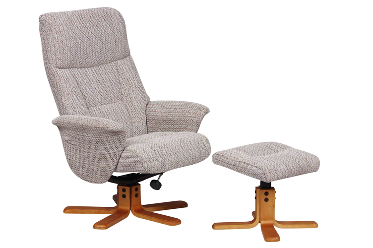 WIN a Montreal Swivel Recliner Chair & Stool At Furniture World.