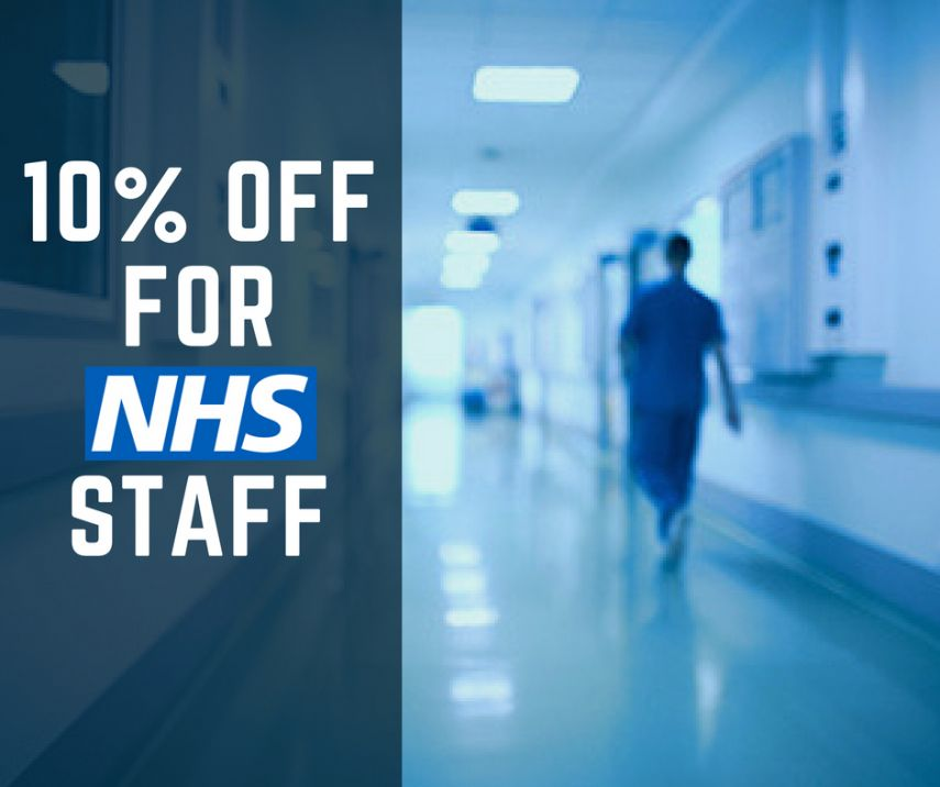 10% Off for NHS Staff